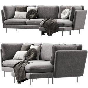 wes sofa 3D