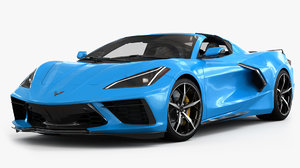 chevrolet corvette c8 stingray 3D
