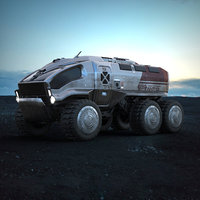 Planetary Rover ANT-01 Stellar Industries corp