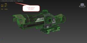 3D scope asset polys
