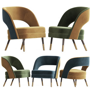 3D ava lounge chair mambo