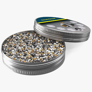 3D hornet pointed airgun pellets