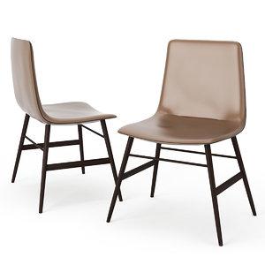 amelie basic chair 3d 3ds