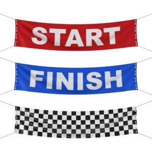 banner racing 3D