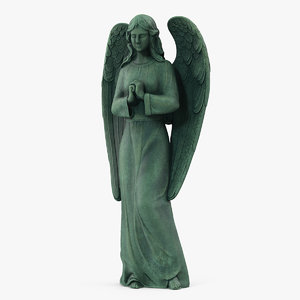 3D angel outdoor garden statue