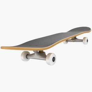 skateboard scanline ready model