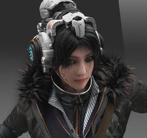 arnold backpack 3D model