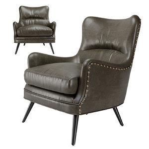 arteriors seger chair model