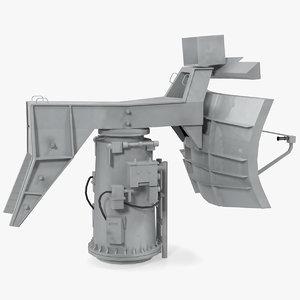 3D military ship radar