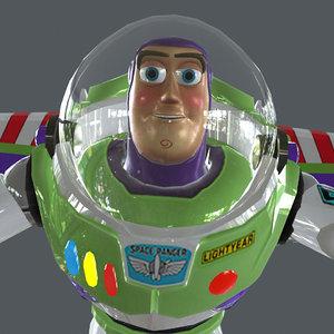 buzz running 3D