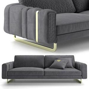 sofa giorgio charisma 3D model