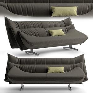 3D model sofa mitchell