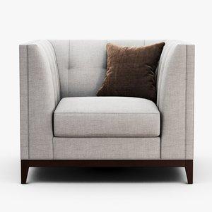 sofa chair company - 3D model