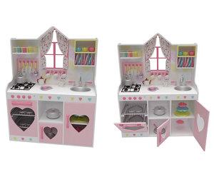 3D kids kitchen model
