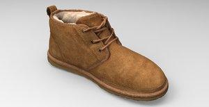 footwear apparel shoes 3D model