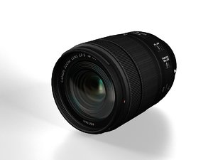 3D canon ef-s 18-135mm 3