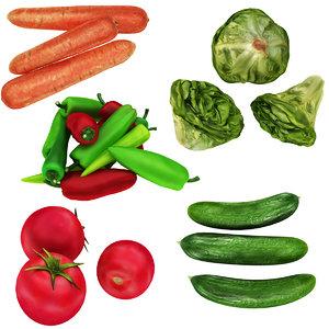 vegetable 5 1 tomato model