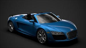 audi r8 v10 competitions 3D model