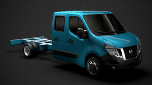 nissan nv400 crewcab dw 3D model
