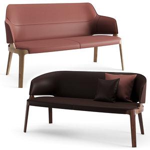 sofa potocco velis 3D model