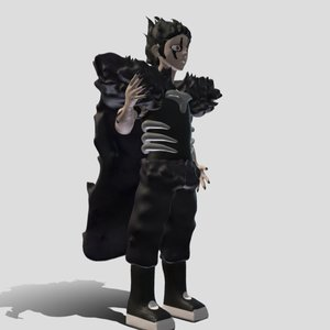 3D anime character brago zatch