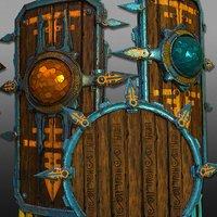3D Aztec Shields - GAME READY