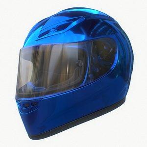 motorcycle agv helmet 3D