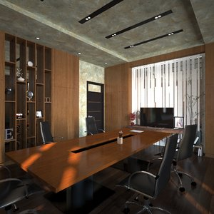 meeting room 3D