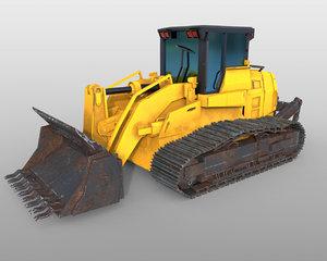3D track loader