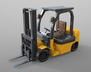 vehicle forklift 3D model