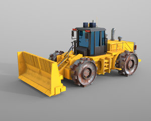 compactor 3D model