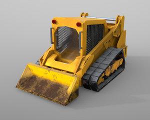 track loader 3D