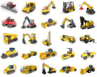 25 Industrial Vehicles Collection