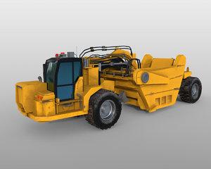 vehicle scraper 3D model