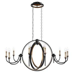 chandelier 45 oval 3D model