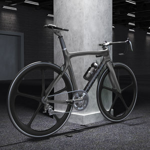 3D racing bike