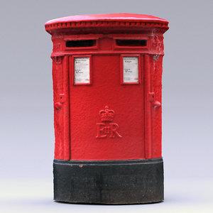3D scan london royal mail model