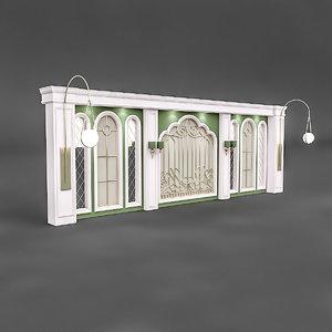 3D classical decorative wall