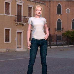 3D model 3d peploe