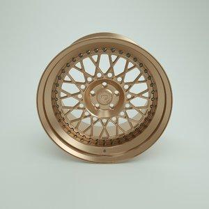 3D model vossen wheels