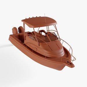 center console boat model