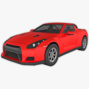 polycar n96 lp1 cars 3D model