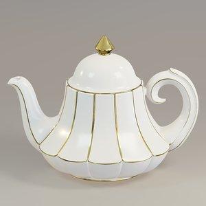 teapot pot bell 3D model
