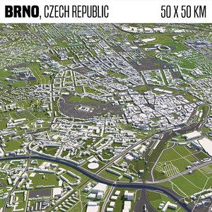 3D model buildings houses maps