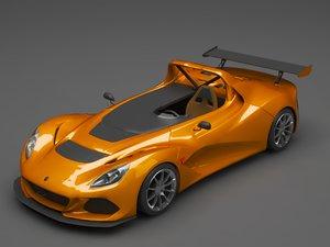3D lotus eleven