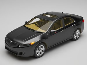 3D car tsx