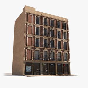soho nyc facade architecture model