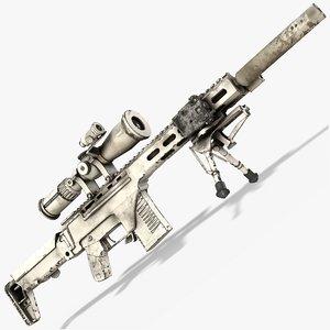 3D chukavin sniper rifle