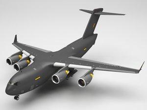 air force plane 3D model