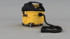 3D dewalt hepa dust collector